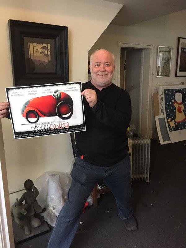 Mackenzie Thorpe charity work car