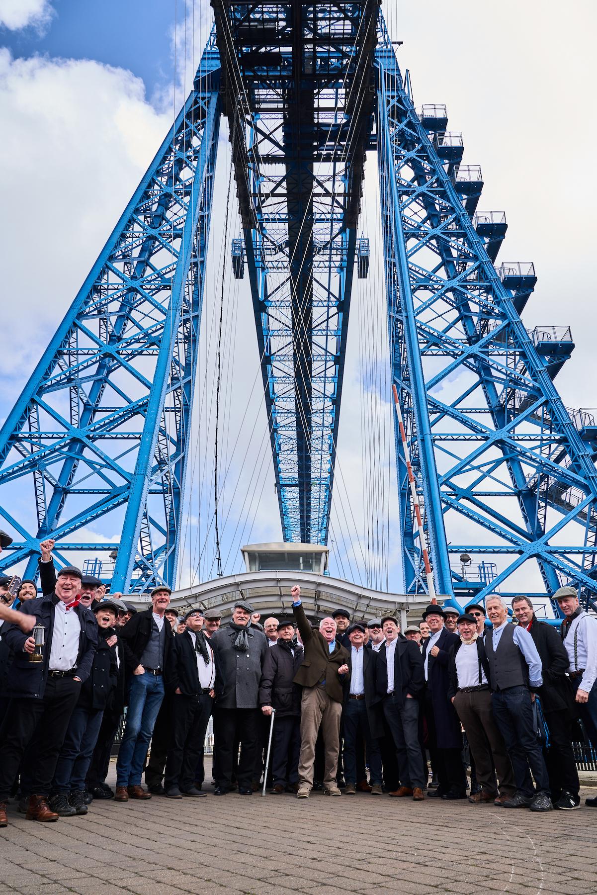 Mackenzie Thorpe Transporter Bridge - credit Topher McGrillis
